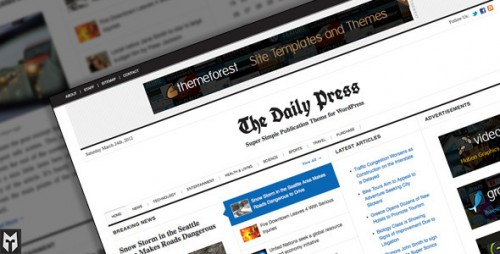 11_The Daily Press - Super Simple WP Publication Theme