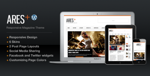 15_Ares Blog Magazine Newspaper Template
