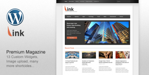 20_Link - Clean Magazine Blog Newspaper Template