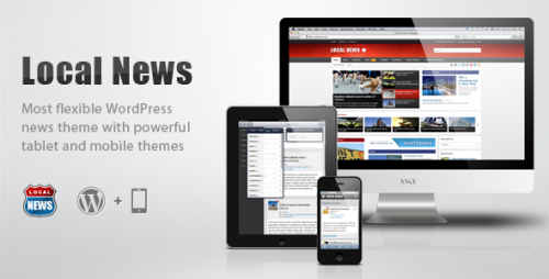 4_Local News - WP News Theme with Mobile Version