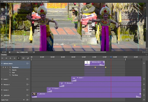 7_How to Use the New Timeline Panel in Photoshop CS6