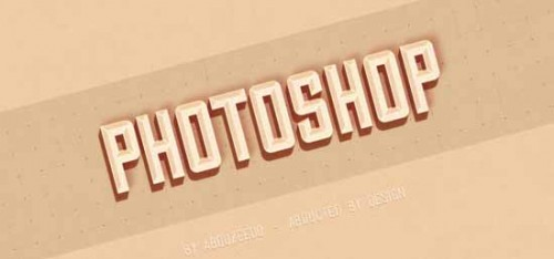 9_Hipster Text Effect in Photoshop CS6