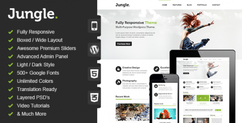 Jungle - Responsive WordPress Theme