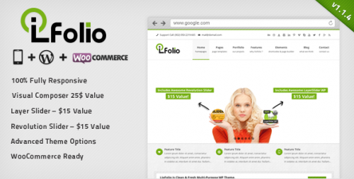 LioFolio - Responsive Multi-Purpose Theme