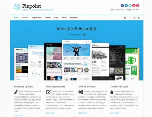 Pinpoint - Responsive WP Theme