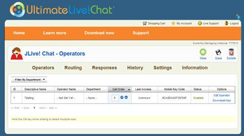 Ultimate Live Chat