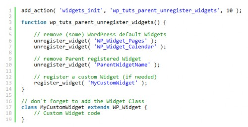 Modify the Parent Theme Behavior Within the Child Theme