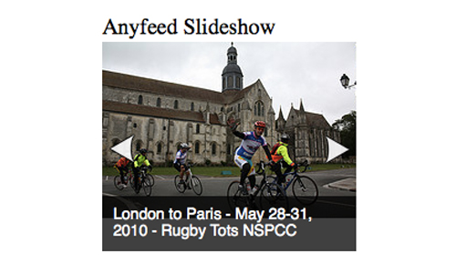 Anyfeed Slideshow