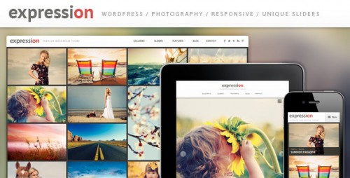 Expression Photography Responsive Theme