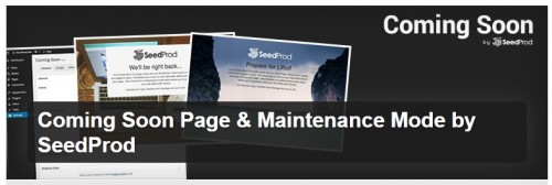 Coming Soon Page & Maintenance Mode by SeedProd