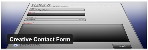 Creative Contact Form