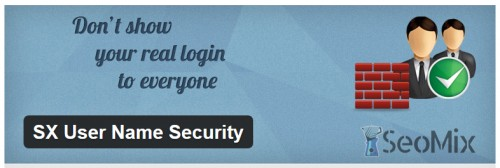 SX User Name Security