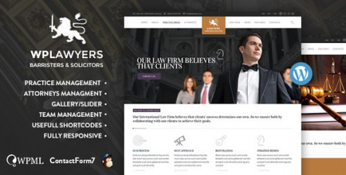 Law Practice - Lawyers Attorneys Business Theme