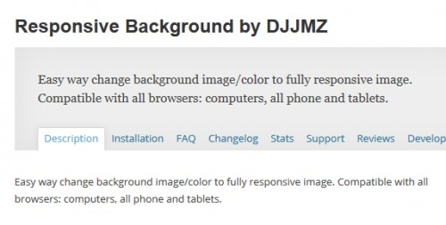 Responsive Background by DJJMZ