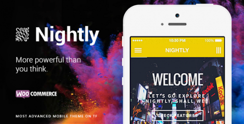 Nightly Mobile - Ultimate Mobile Theme