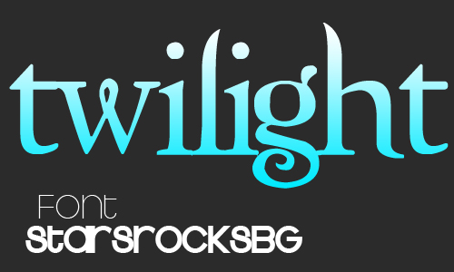 Free Twilight Font for Download
