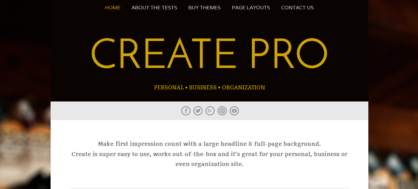 free professional wordpress themes