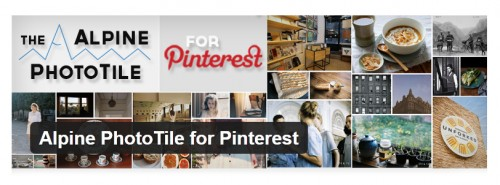 Alpine PhotoTile for Pinterest