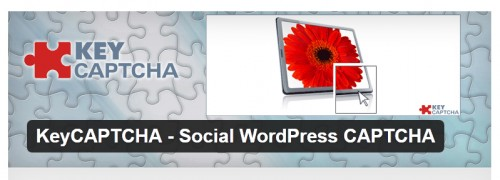 KeyCAPTCHA - Social WordPress CAPTCHA