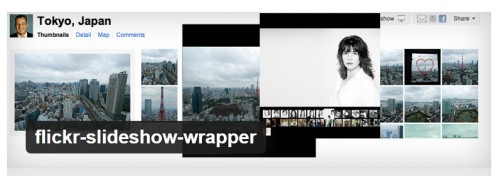 Flickr Slideshow Wrapper