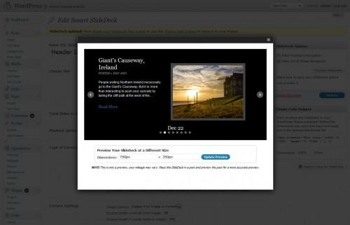 SlideDeck 1 Lite Content Slider