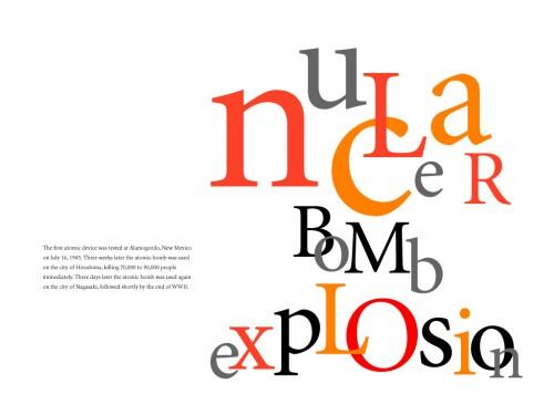 Typographic History Poster