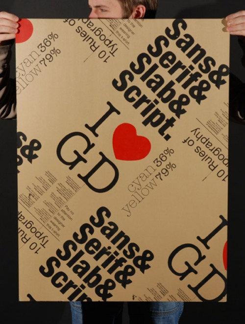 Typographic Poster Design