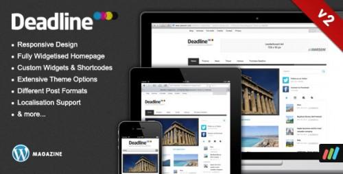 Deadline - Responsive Premium WP News Theme