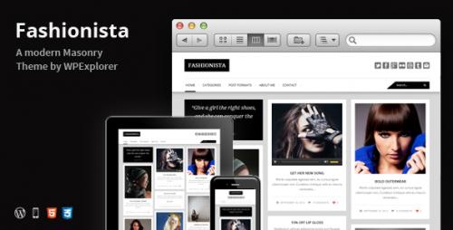 Fashionista - Responsive WP Blog Theme