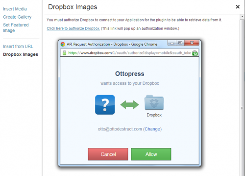 Dropbox Photo Sideloader