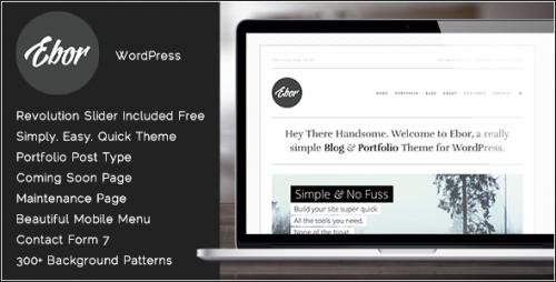 Ebor - Professional Agency WordPress Theme