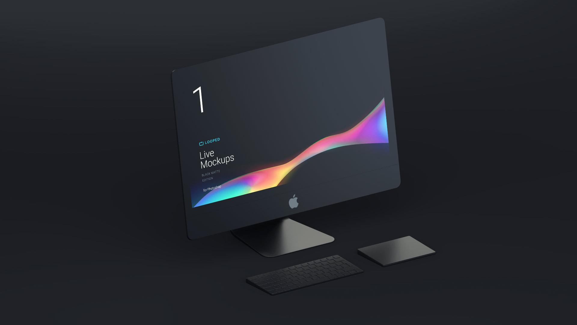 Free iMac Mockup PSD Designs