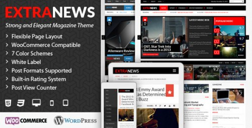 ExtraNews - Responsive WP News, Magazine, Blog