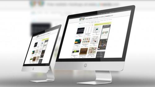 Mac Desktop Mockup Psd