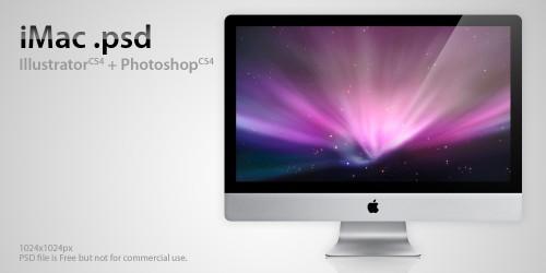 iMac - PSD File
