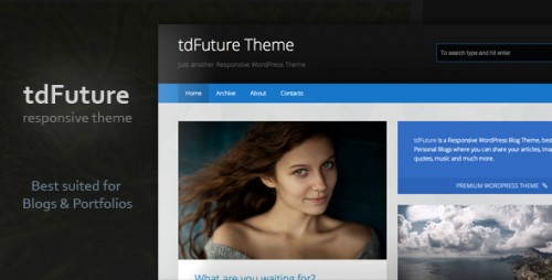 tdFuture - WordPress Theme