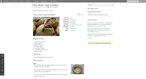 GetMeCooking Recipe Template
