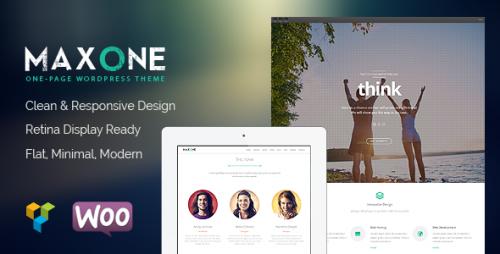 Maxone - Creative One Page Multi-Purpose Theme