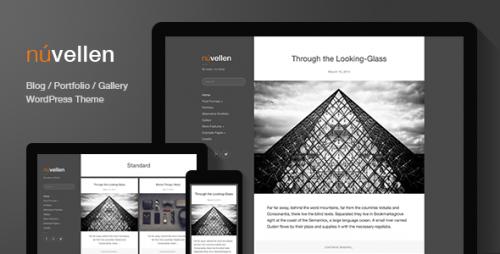 Nuvellen: Blog, Portfolio WordPress Theme