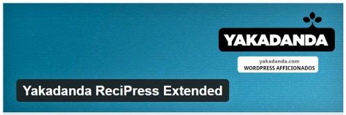 Yakadanda ReciPress Extended