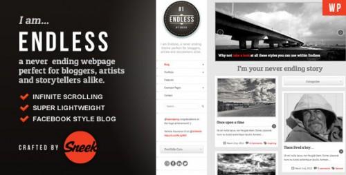 Endless - Infinite Scrolling WordPress Theme