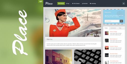 Place - Responsive Blogging WordPress Theme