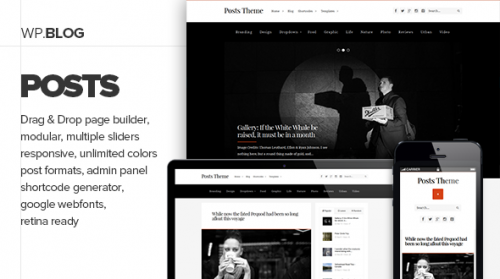 Posts - Responsive Personal Blog Theme