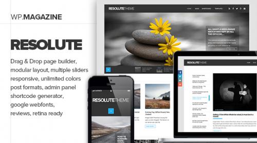 Resolute - Elegant Magazine & Blog Theme