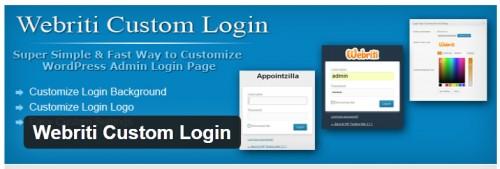 Webriti Custom Login