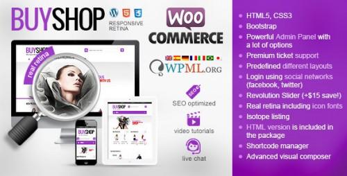 BuyShop - Responsive WooCommerce WordPress Theme
