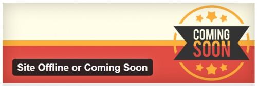 Site Offline or Coming Soon