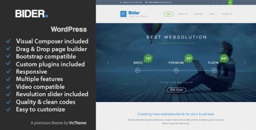Bider - Multipurpose Business WordPress Theme