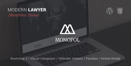 MONOPOL - Lawyers & Business WordPress Theme