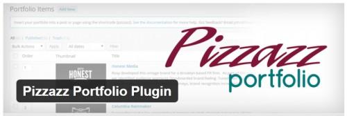 Pizzazz Portfolio Plugin